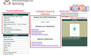 Single organization site