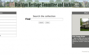 Brockton Heritage Committee & Archive