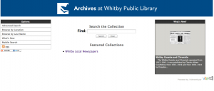 Whitby News Site