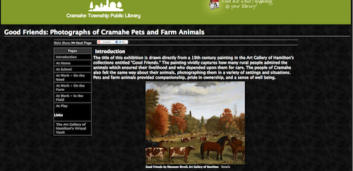 Good Friends: Cramahe Pets & Farm Animals