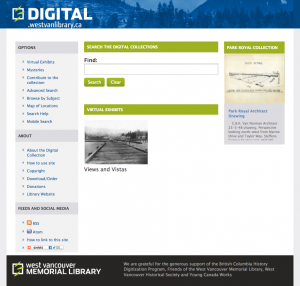 Digital West Van site
