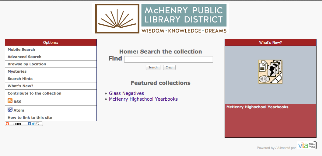 McHenry Public Library Collections
