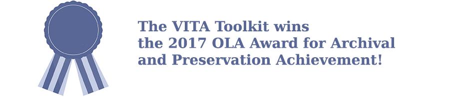 VITA - OLA 2017 Award